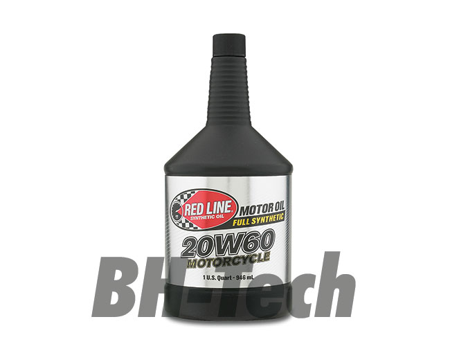 20W-60 MOTORCYCLE OIL US QUART